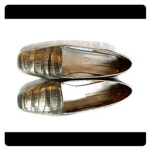 Enzo Angiolini | Metallic Bronze Liberty Flats 7.5